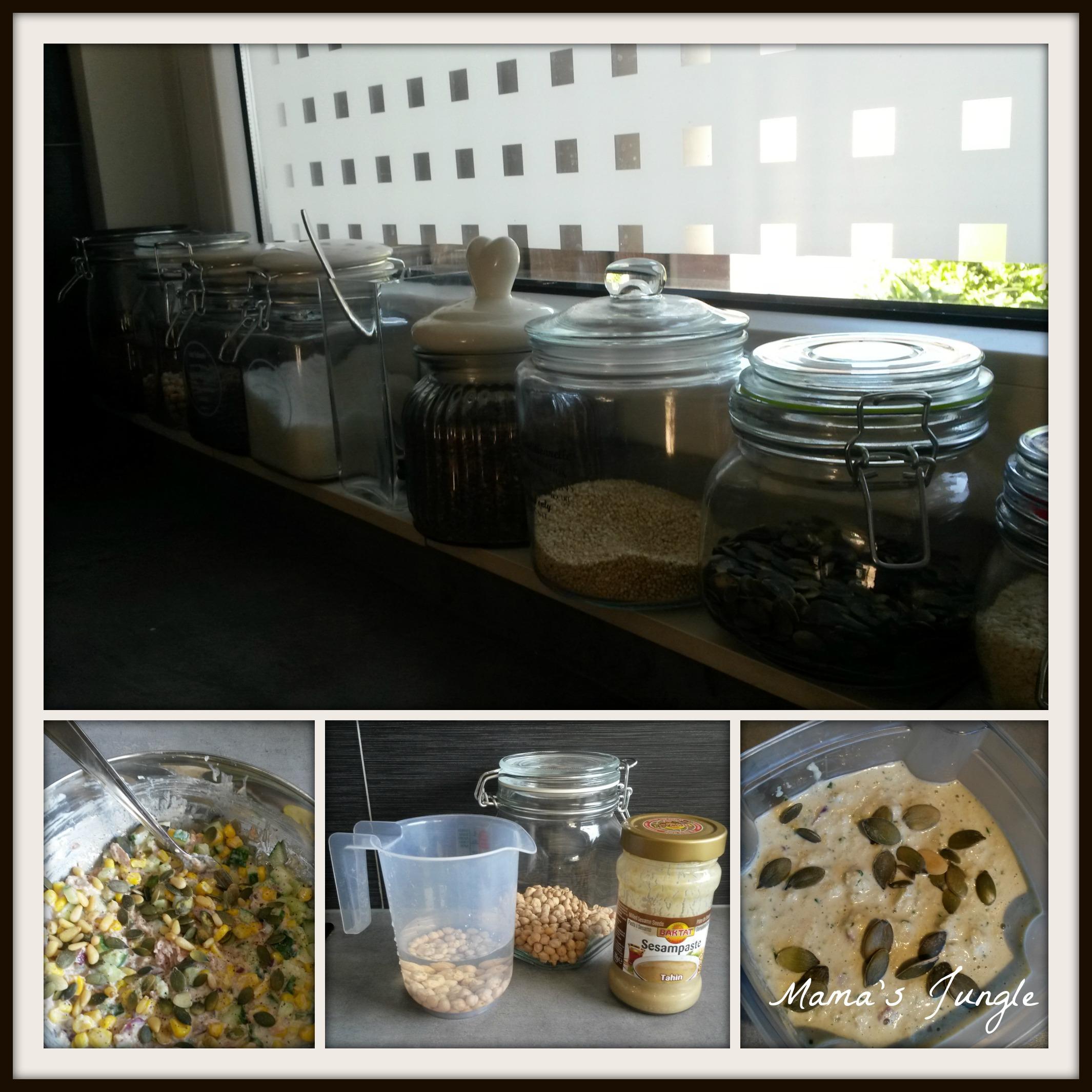 tonijnsalade met zaadjes