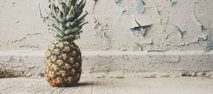 zout op ananas