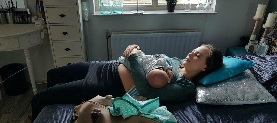 borstvoeding in het begin