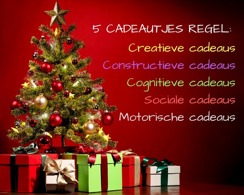 5 cadeautjes regel