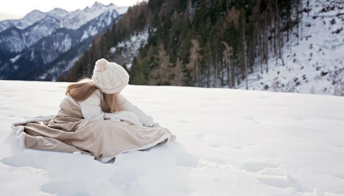 Onder mijn winterdekentje