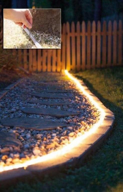 Coole effecten met tuinverlichting - grond pinterest