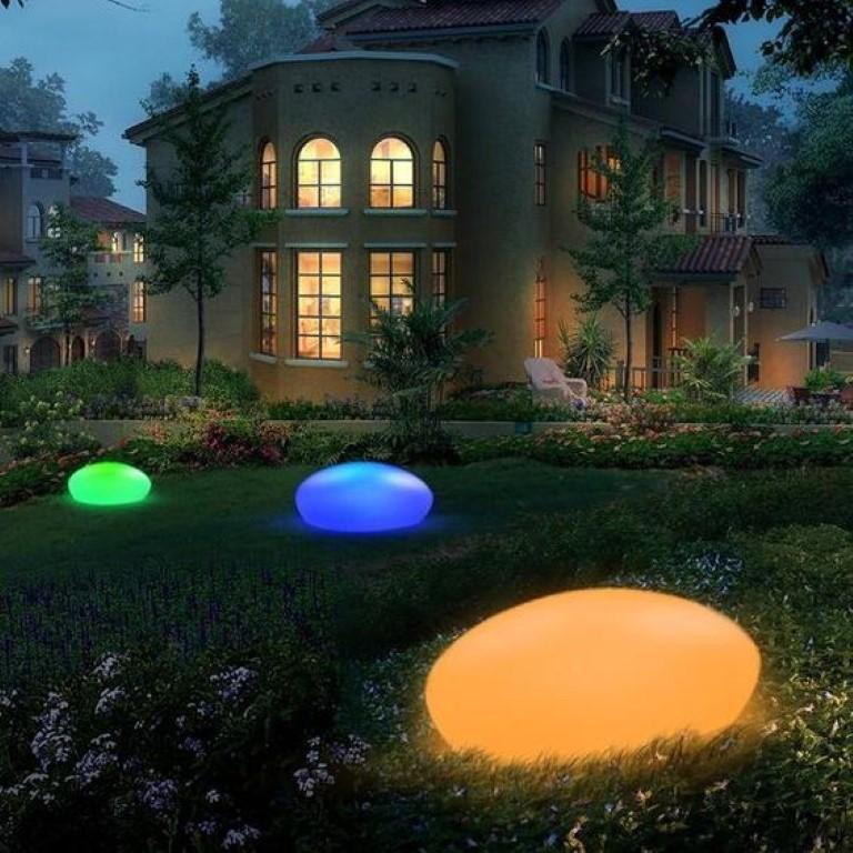 Coole effecten met tuinverlichting - grond3 pinterest