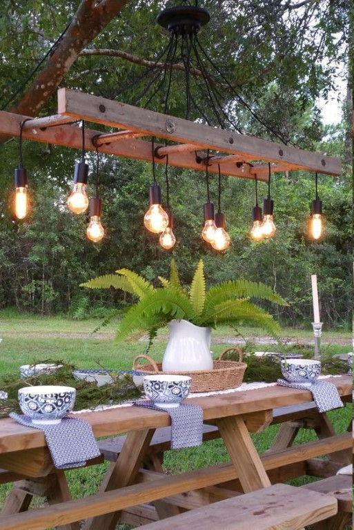Coole effecten met tuinverlichting - hoekje pinterest