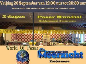 Uitjes agenda Zoetermeer pasar mundial