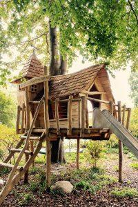 groot speelhuis in eigen tuin maken