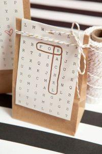 herbruikbaar cadeaupapier - cadeau tasjes DIY