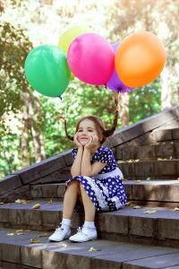 Foto cadeau ideetjes met humor; spelen met zwaartekracht