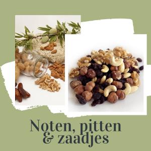 noten, pitten, zaadjes