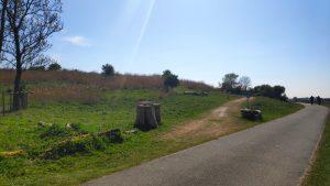 Buytenpark naar het park in Zoetermeer