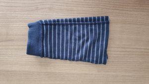 klein zakje van afgeknipte broek maken